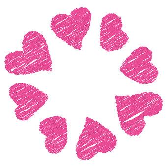 Heart 31_10 (Frame · Crayon)