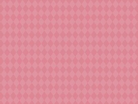 Diamond pattern rose pink pattern background