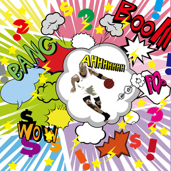 Amekomi style speech bubble
