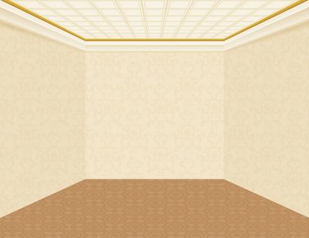 Hotel hall room