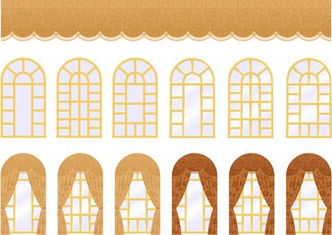 宮殿の窓_セット