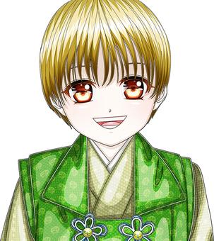 Shichigo San · Kimono · smile face boys face up