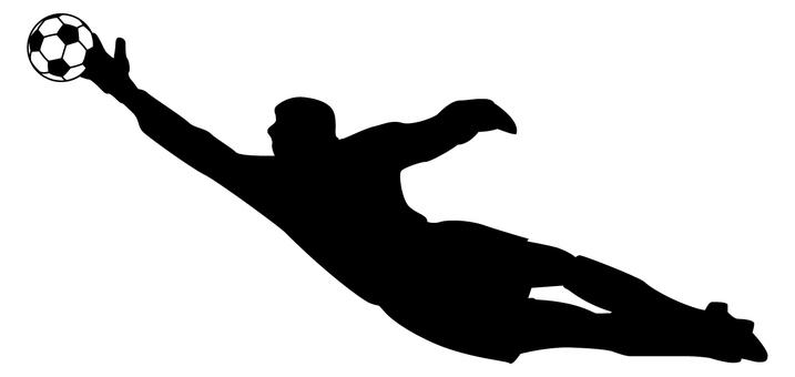 Football silhouette - 10