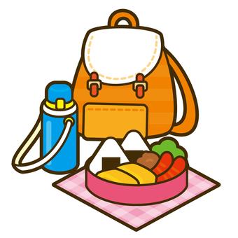 Onigiri lunch box