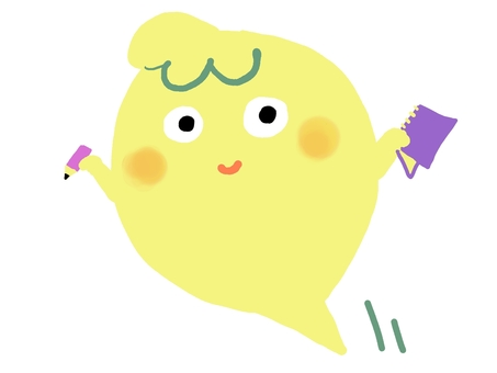 Sprinkle balloon yellow