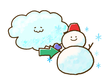 (Weather) Cloudy then snow