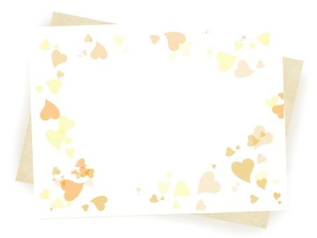 Heart Frame 5 Orange