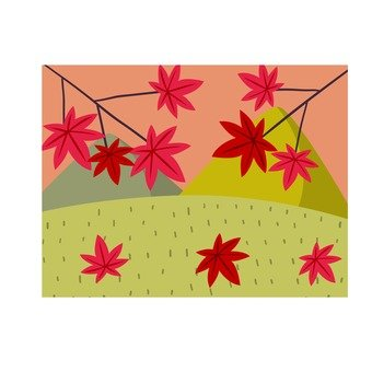 Autumn leaves icon 1