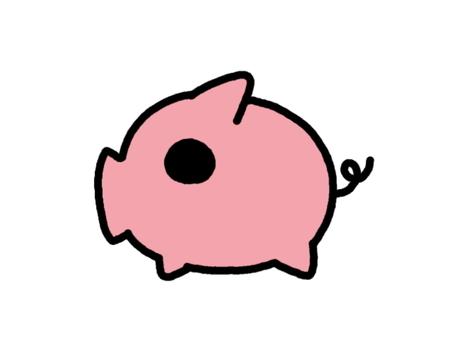 돼지 핑크
