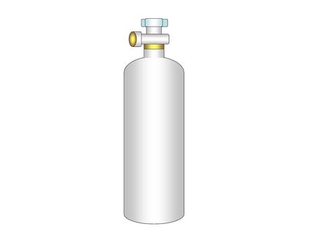 Gas cylinder Tray gray