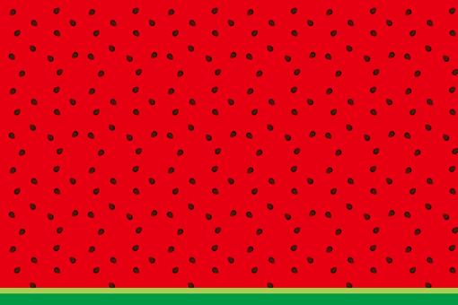 Watermelon pattern kind large