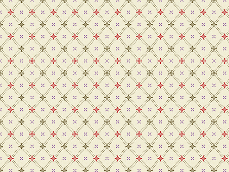 Linen style pattern Wallpaper Lattice pattern 1