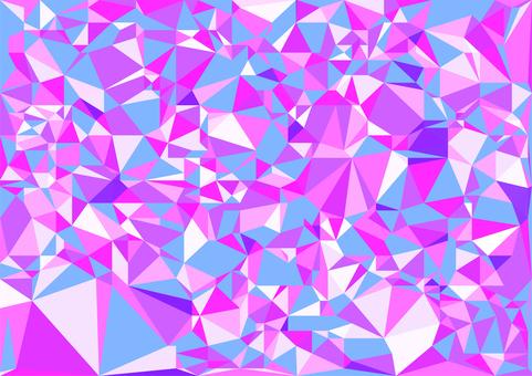 紫色のデジタルポリゴンベクター背景素材