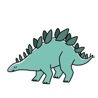 ステゴサウルス1