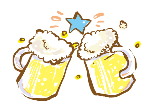 How about a raw draft beer? ♪