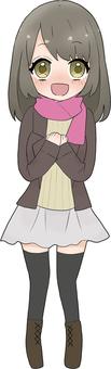 Girl | winter plain clothes 2