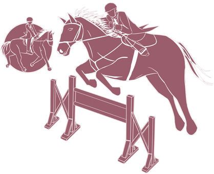 Equestrian illustration