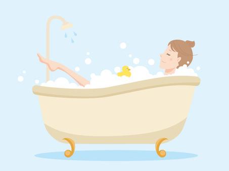 여성 _ 목욕