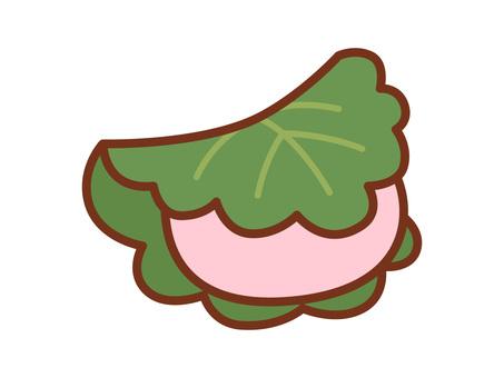 Kashiwa cake