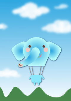 animal_ balloon _ elephant 2