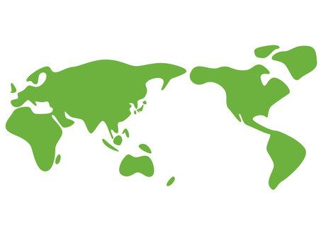 鬆散的世界地圖