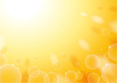 Background Shabon Orange