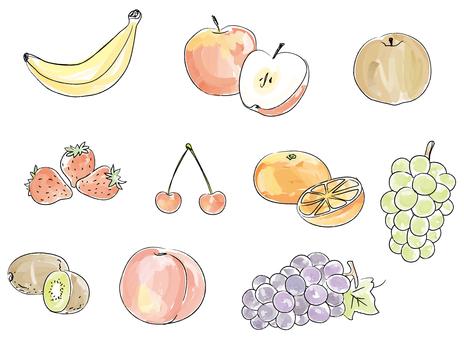 Rough fruit 1