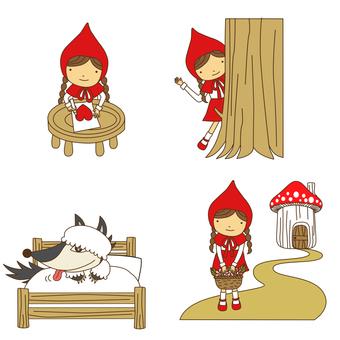 Little Red Riding Hood Set · 06