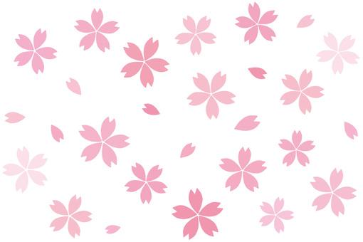 간단 벚꽃 부품