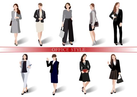 オフィスファッション【2】