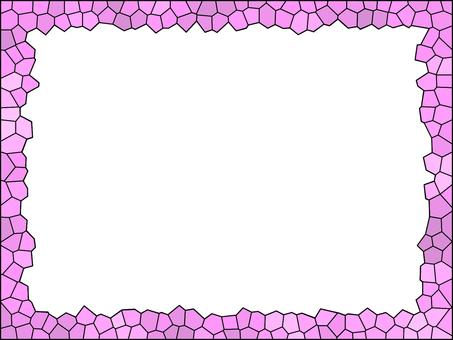 彩繪玻璃風框架