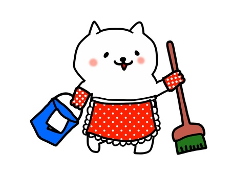 Cleaning of fashionable cats