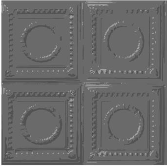 Gray tile pattern