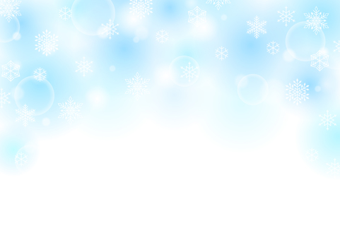 雪景色の背景( RGB)