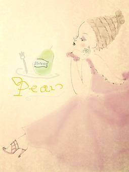 Pear Girl