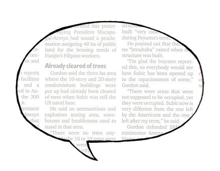 Speech balloon 01-02 _ English newspaper