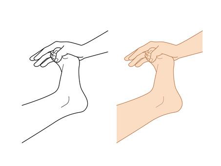 Parts feet