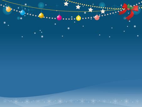 圣诞灯装饰框架