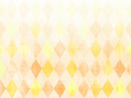 Orange diamond (Argyle) pattern background