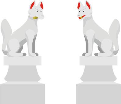 Inari Shrine 狐