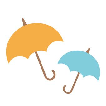 우산 장마의 이미지