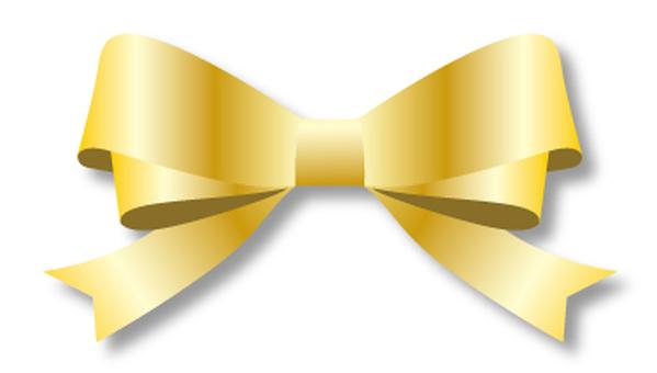 Double ribbon gold 1