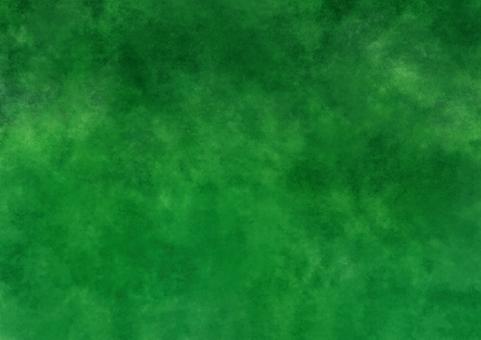 Green gradient watercolor wallpaper A4 Novice