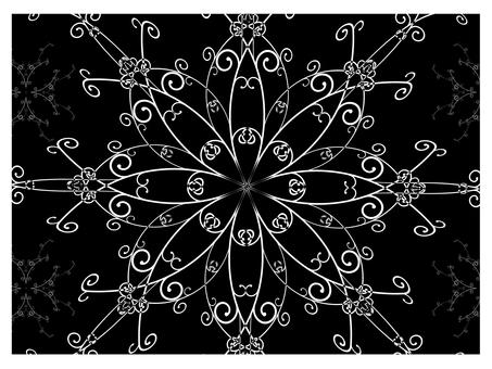Arabesque pattern 1