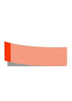 Sticky note · vertical stripe (Orange)