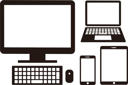 PC / Smartphone / Tablet / Icon
