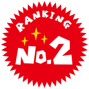 RANKING NO.2 icon mark