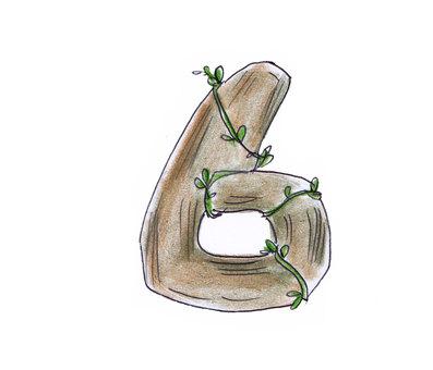 Number (wood 6)
