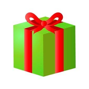 聖誕禮物(綠色)