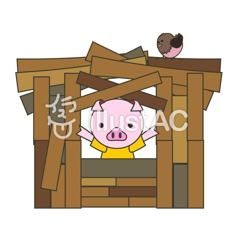 木の家イラスト No 189293無料イラストならイラストac